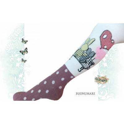 Колготки Buonomare с рисунком