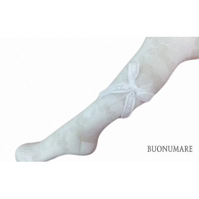 колготки Buonomare, Ажурные с бантами, ассорти, размер 7
