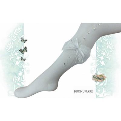 Колготки Buonomare, дорожка из страз